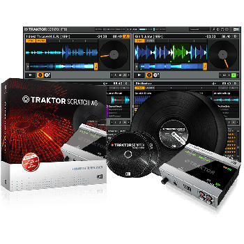 NI Traktor Scratch A6 Cover Photo