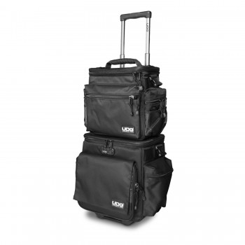 UDG Ultimate SlingBag Trolley Set DeLuxe Black / Orange Cover Photo