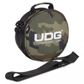 UDG Ultimate DIGI Headphone Bag Black Camo/ Orange