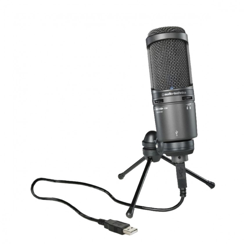 Audio Technica AT 2020 USB+ cover photo