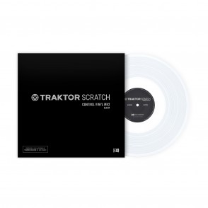 NI Traktor Control Vinyl Mk2 ( clear )