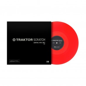 Native Instruments Traktor Control Vinyl Mk2 ( red )
