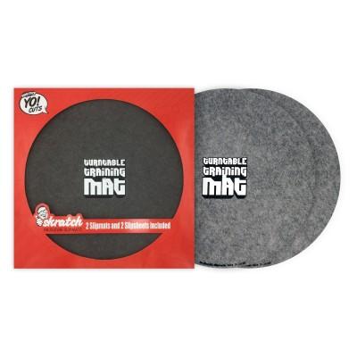 Dr Suzuki 12 inch slipmats w/ slipsheets - Grey (TTW edition)