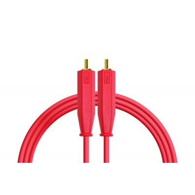 DjTechTools Chroma Cables Audio RCA to RCA Stereo (red)
