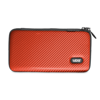 UDG Creator Cartridge Hardcase Red PU Carbon