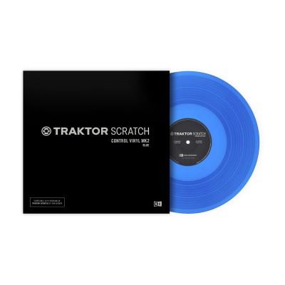 Native Instruments Traktor Control Vinyl Mk2 ( blue )