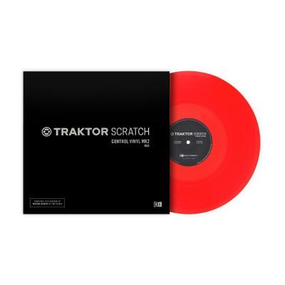 Native Instruments Traktor Control Vinyl Mk2 ( red )