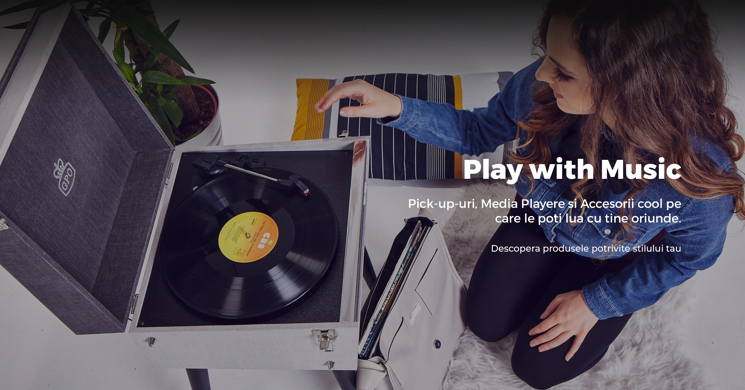 Play with music - Descopera produsele potrivite stilului tau