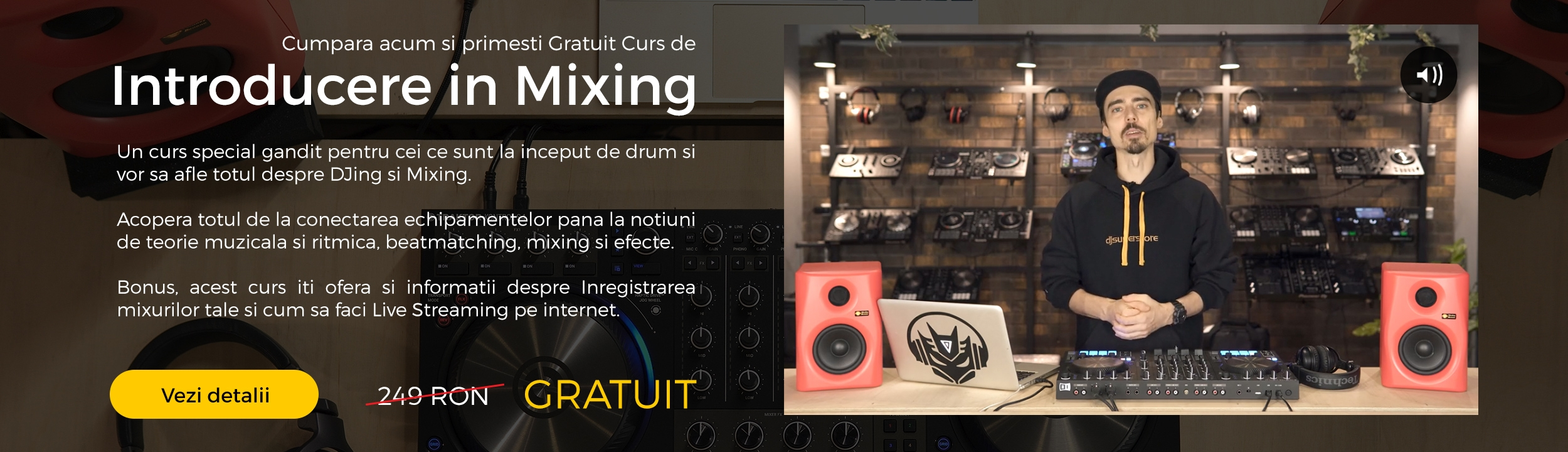 Curs de Introducere in mixing