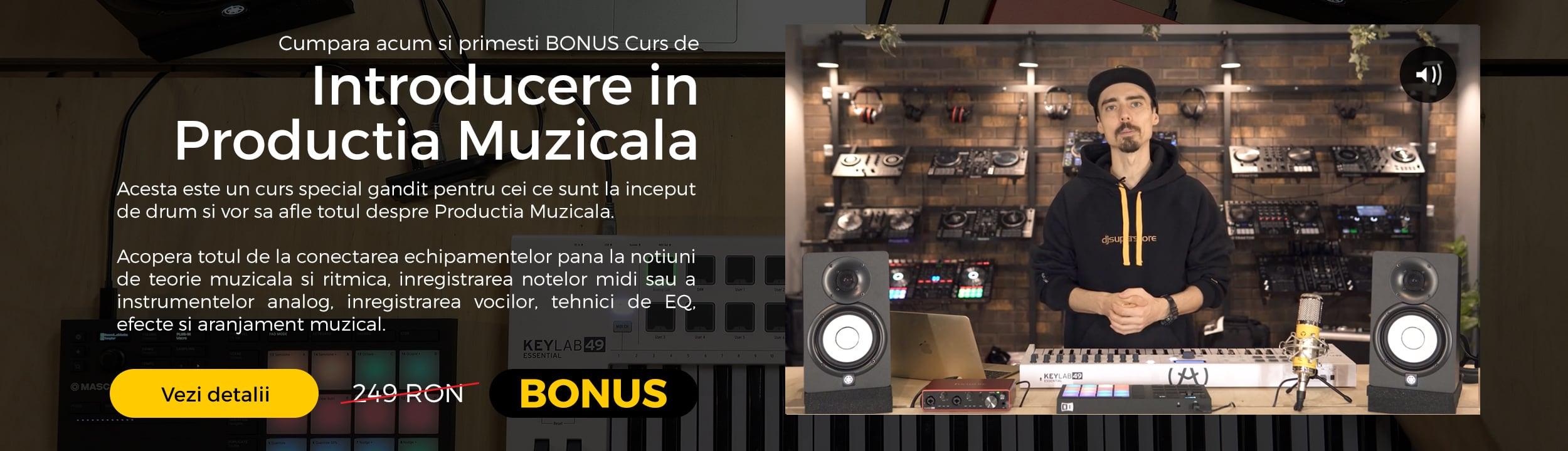 Curs de Introducere in Productia Muzicala