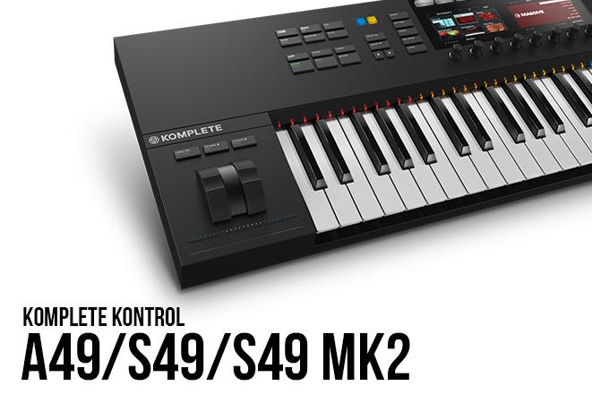 NI Komplete Kontrol A49/S49/S49 MK2