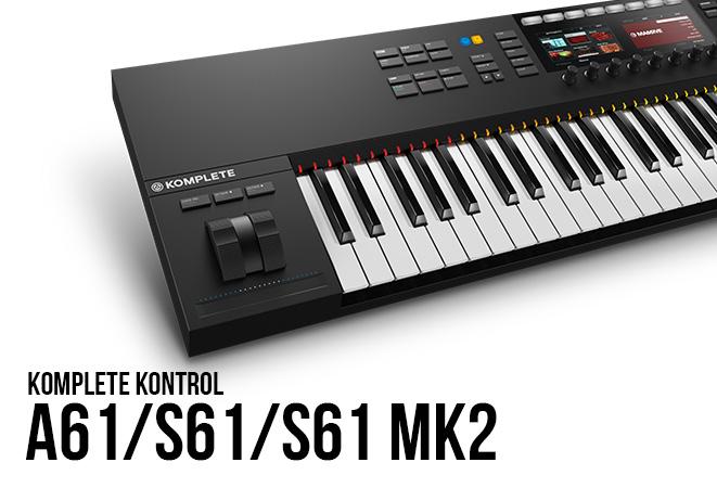 NI Komplete Kontrol A61/S61/S61 MK2