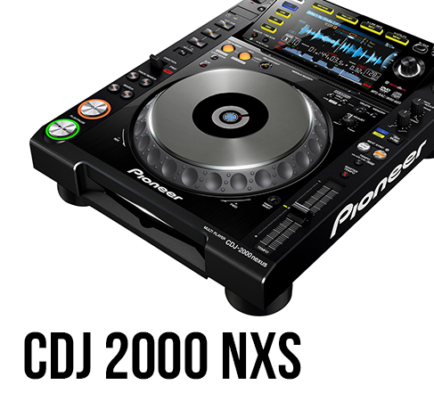 Pioneer CDJ 2000 NXS