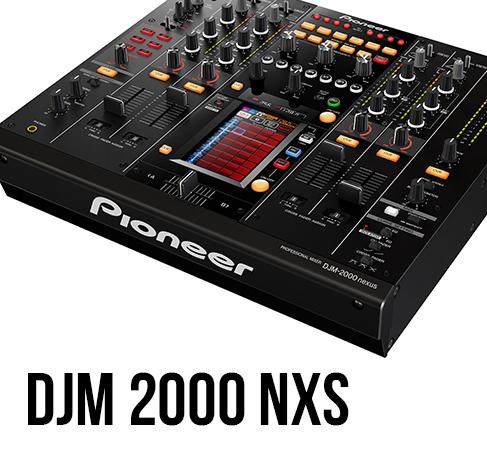 Pioneer DJM 2000 NXS