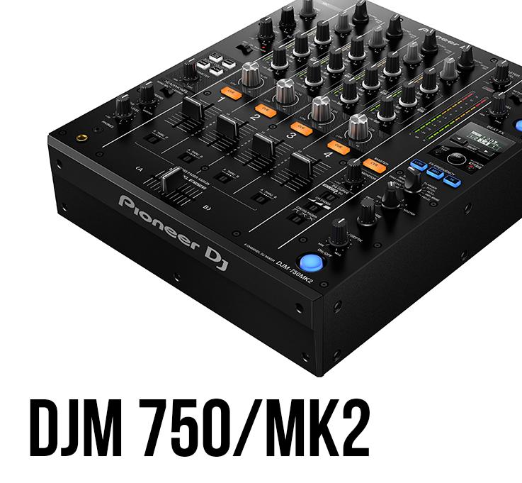 Pioneer DJM 750/750 MK2