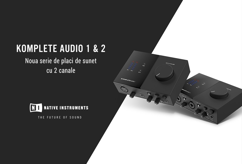 NI Komplete Audio 1 & 2
